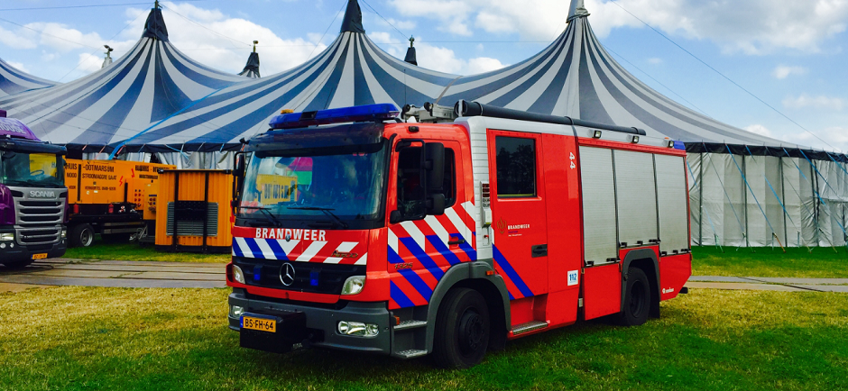 Brandweer Brandwacht evenemement Forty4 Safety